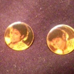 Micheal Jackson Thriller pierce earrings